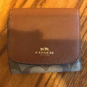 Little Coach Signature Wallet